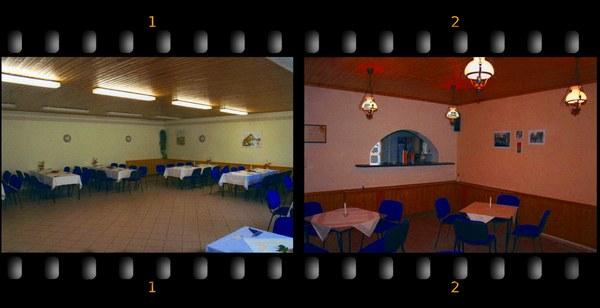 Die Räumlichkeiten unseres Vereinshauses