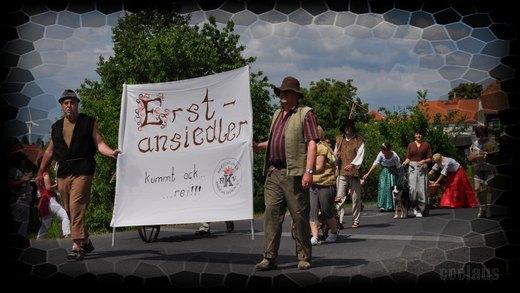 Der Herschdurfer Karnevalsverein e.V. beim großen Festumzug