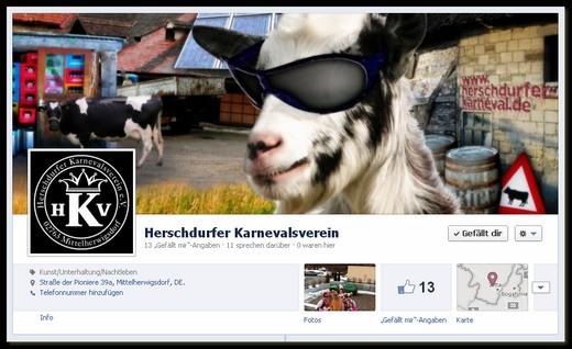 Der Herschdurfer Karnevalsverein auf facebook