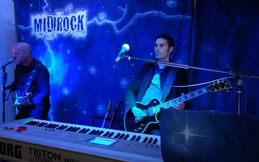 Die Liveband Midirock.