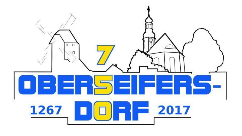 Das Logo zur Festwoche - 750 Jahre Oberseifersdorf